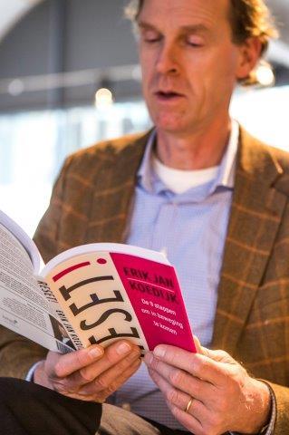 (foto: (c) 2017 Hanneke Wetzer voor Erik Jan Koedijk - boekpresentatie Reset het boek