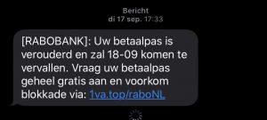 phishing per SMS